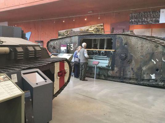 Tank Cut-Away Display