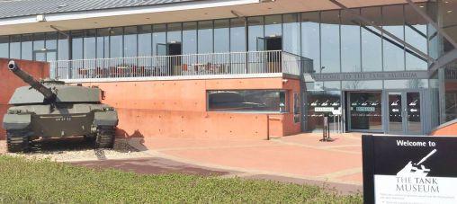 Bovington Tank Museum Entrance