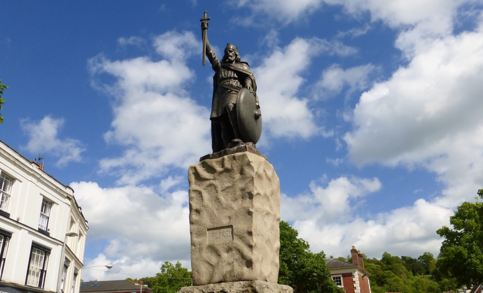 King Alfred's Statue Winchester