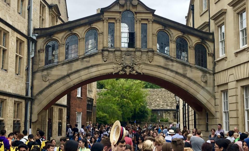 Oxford Bridge of Sighs